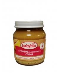 Babybio - Petit Pot Pomme Coing