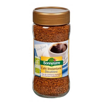 Bonneterre - Café Instantané Décaféiné
