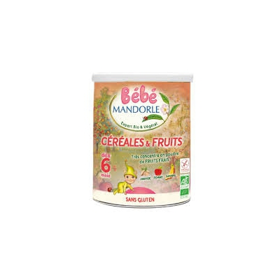 Céréales et fruits 400g