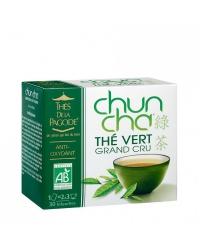 Thés de la Pagode - Thé Vert Chun Cha 90 Infusettes