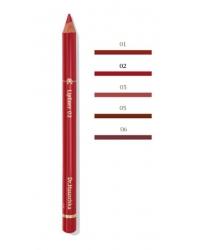 Crayon a levres 02 rouge eclatant