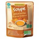 Soupe de Potimarron et Courge Butternut