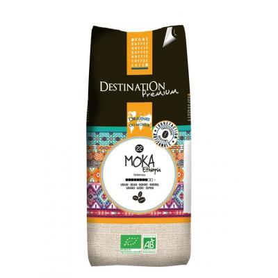 Café ethiopie moka 100% arabica grains 1kg